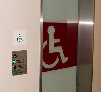 ADIS automatic toilet doors