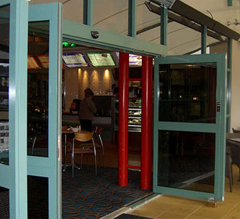NG BOS breakout doors