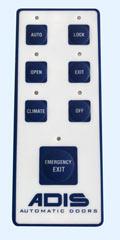 automatic door mode pad