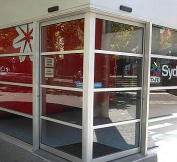 ADIS Automatic Door X Sergmented Outside View