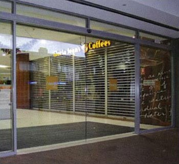 frameless automatic glass doors