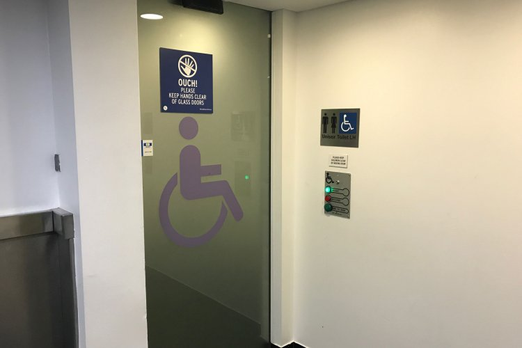 Disabled Toilet Door Systems
